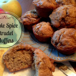 So delicious and moist! Apple Spice Strudel Muffins