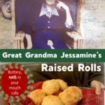 Grandma Jessamine's Raised Rolls